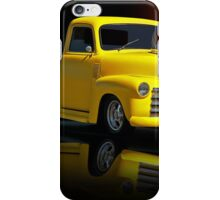1953 Chevrolet Pickup 'Reflections of Yesterday' iPhone Case/Skin