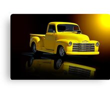 1953 Chevrolet Pickup 'Reflections of Yesterday' Canvas Print