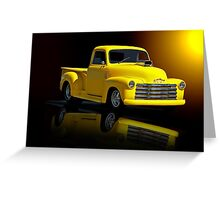 1953 Chevrolet Pickup 'Reflections of Yesterday' Greeting Card
