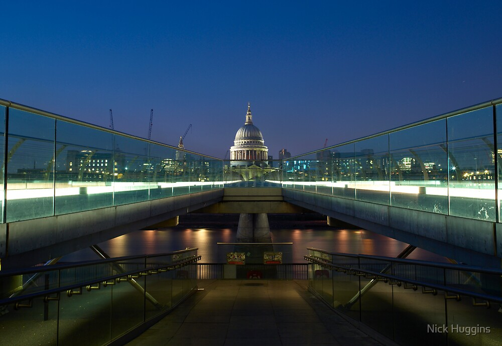 Bridge To St Paul's by Nick Huggins