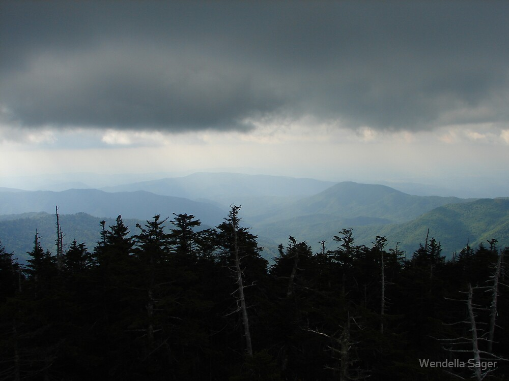 Smoky Mtns by Wendella Reeves