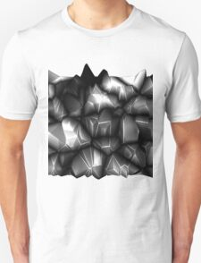 Gray spikes T-Shirt
