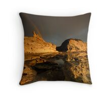The Dawning of Eagles Nest Throw Pillow