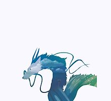 Spirited Away Haku by toogoodforyou
