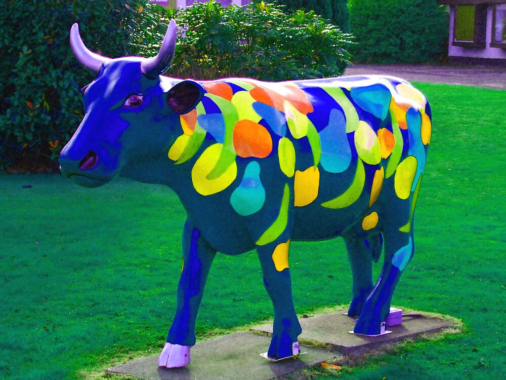 the cows parade by Alan Findlater