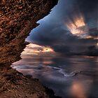 Fowlers Point Sundown by Robert Mullner