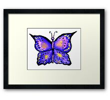 Watercolor Butterfly 2 Framed Print