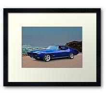 1969 Pontiac GTO Framed Print