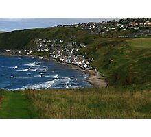 Gardenstown from St Johns Churchyard Photographic Print