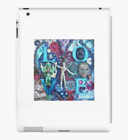 Original Artwork by Paul Bonser iPad Case/Skin