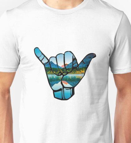 Hang Loose - mountains Unisex T-Shirt