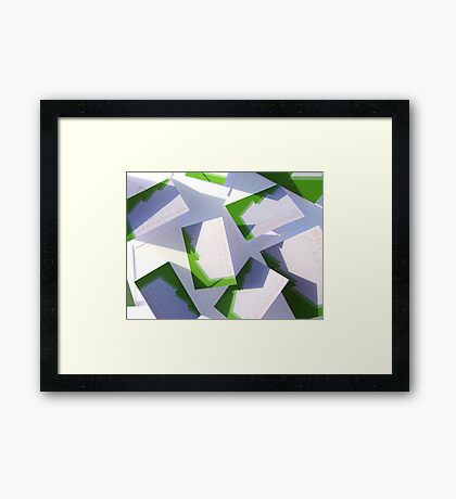 Dreaming of more post this Christmas Framed Print