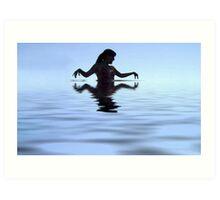 Water Woman Art Print