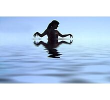 Water Woman Photographic Print