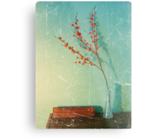 Still Life with vase Metal Print