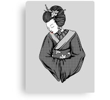 Vecta Geisha 5 Canvas Print