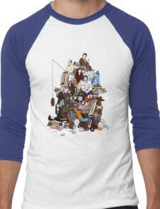 99 References Men's Baseball ¾ T-Shirt