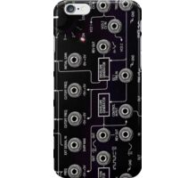 Amazing Korg Synth, black transparent design. iPhone Case/Skin