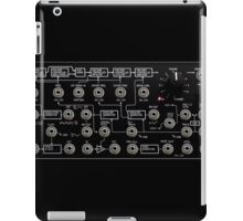 Amazing Korg Synth, black transparent design. iPad Case/Skin