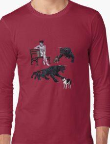 Gozer at the Dog Park Long Sleeve T-Shirt