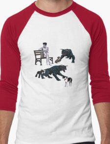 Gozer at the Dog Park Men's Baseball ¾ T-Shirt