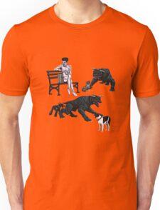 Gozer at the Dog Park Unisex T-Shirt