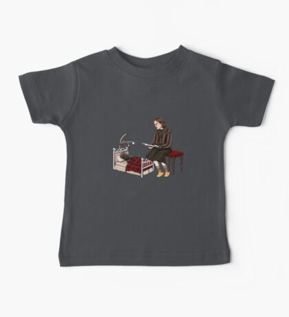 Bedtime for Log Baby Tee