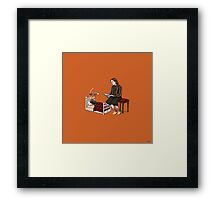 Bedtime for Log Framed Print