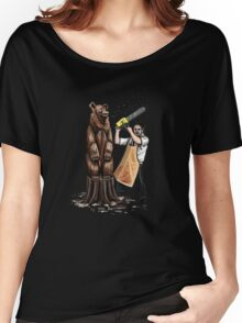 Leatherface's Secret Hobby Women's Relaxed Fit T-Shirt