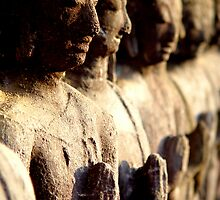 Ancient Buddhas by Dave Lloyd