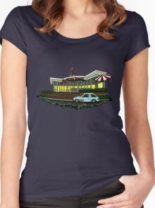 Stan Makita's Donuts Women's Fitted Scoop T-Shirt
