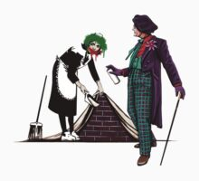 Joker vs. Banksy by Kiersten Essenpreis