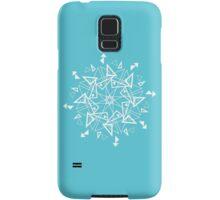 Snowflake - Triangles Samsung Galaxy Case/Skin