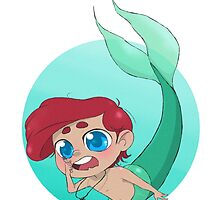 The Little Merman by fottantuno