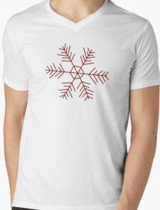 Snowflake 2 Mens V-Neck T-Shirt