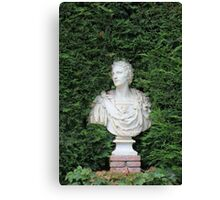 Ancient Marble bust Canvas Print