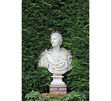 Ancient Marble bust Photographic Print