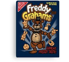 Freddy Grahams Canvas Print