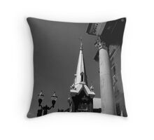 Temples Throw Pillow