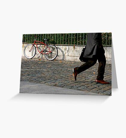 walking by Greeting Card