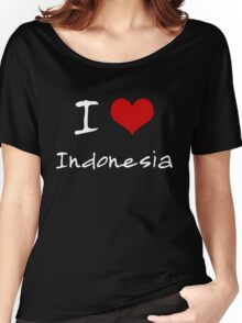 I love Heart Indonesia Women's Relaxed Fit T-Shirt