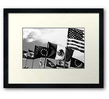league of nations  Framed Print