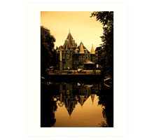 Places on Earth-De Waag-Amsterdam Art Print