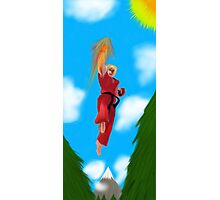Ken Masters Photographic Print