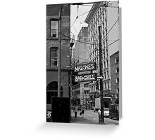 Seymour corner Pender Greeting Card