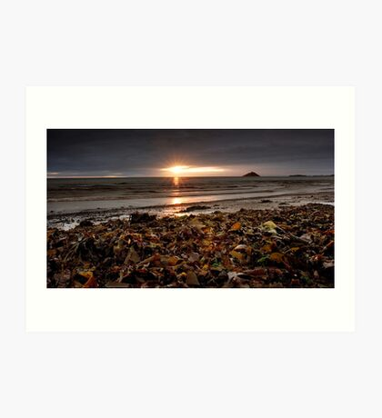 Sunrise at Ballycotton Co Cork, Ireland Art Print