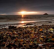 Sunrise at Ballycotton Co Cork, Ireland by Sean Monaghan