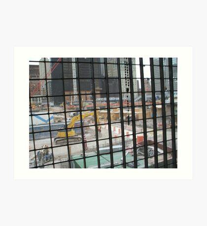Ground Zero 2007 Art Print