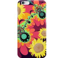 Fantasy design with Sunflowers iPhone Case/Skin