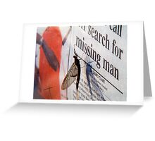 Today's News Greeting Card